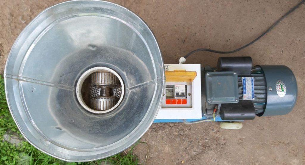 Мини гранулятор zlsp-120