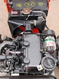 Фото: Двигатель TY295 применяемый на Уральце