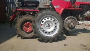 Увеличиваем радиус колес на мтз 132 н