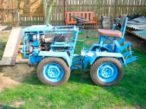 Фото: самодельный мини трактор для домашнего хозяйства