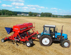 Фото: Сельскохозяйственная машина для посева злаковых культур «Агратор»