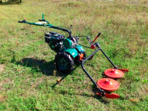 Фото: Роторная косилка для мотоблока Салют