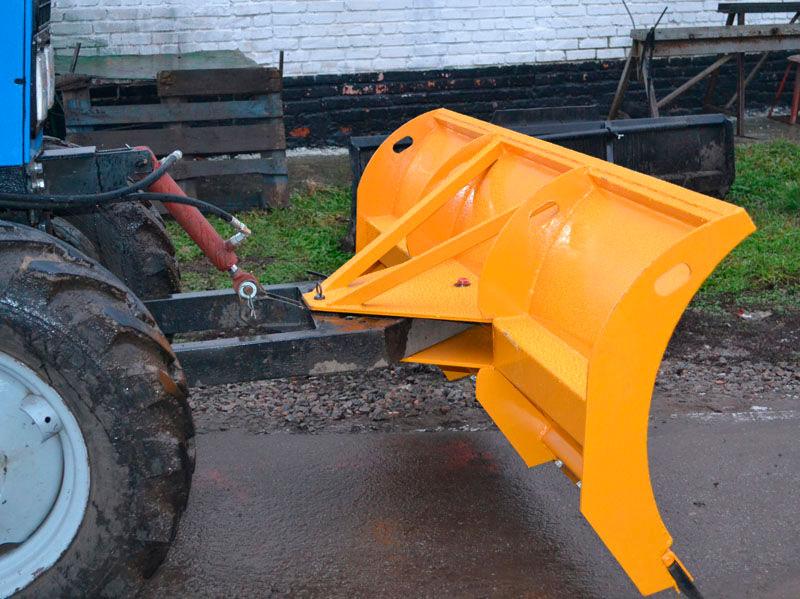 Отвал снегоуборочный + бульдозерный для трактора МТЗ-80.