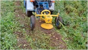 Фото: Косилка роторного типа для минитрактора