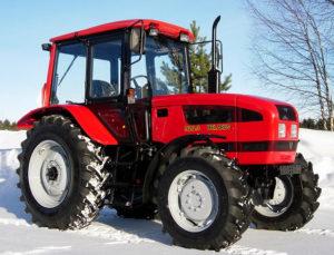 фото: тяговый класс трактора мтз