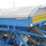 Фото: Емкость семенного бункера: — 2 х 750 литров для агрегата