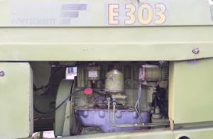 Фото: Двигатель косилки самоходной е 303