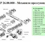 Фото: Прессующий механизм схема №2