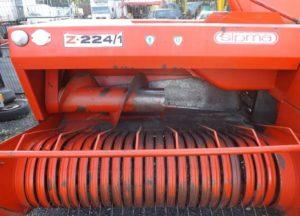 Фото: механизм подбора сена