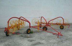 Фото: колесно пальцевые грабли гвк 6